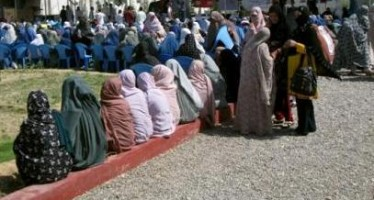 Afghan men and women complete vocational training courses in Helmand