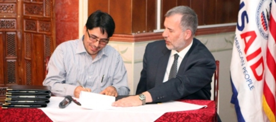 Five Afghan Companies Form Public-Private Alliances with USAID