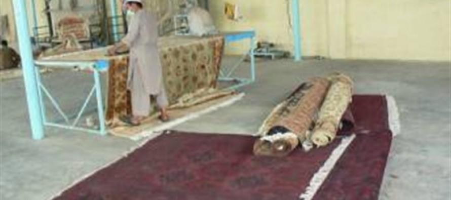 Afghan Carpet Exports Down 90% Due to Air-Corridor Closures