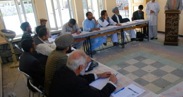 Handover ceremonies of equipment for schools in Badakhshan, Balkh and Takhar