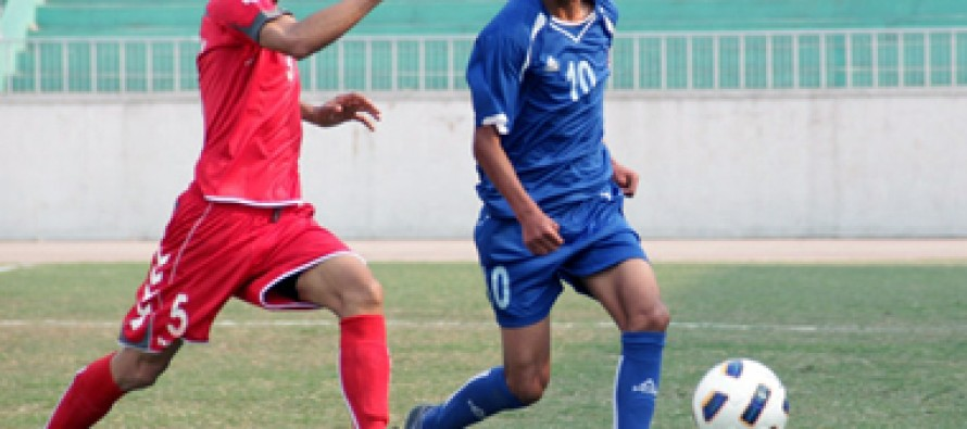 Afghan National football team heads to Nepal for SAFF Gold Cup