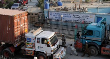 Afghan government to fine unregistered NATO supply trucks