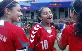 Afghan Girls' Football Team Defeats Kyrgyzstan