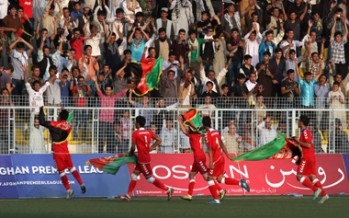 Afghanistan's 3-0 victory against Pakistan in Kabul friendly match