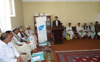Swedish Committee to launch 14mn AFN projects in Dehdadi district of Balkh province