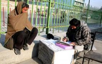 Petition Writers in Afghanistan still have enough customers