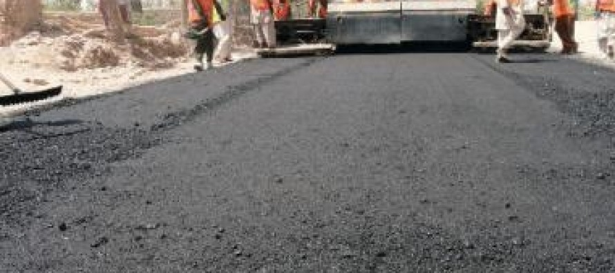 New road being built in Tirinkot