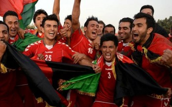 Afghanistan steps up to 129th position in FIFA ranking