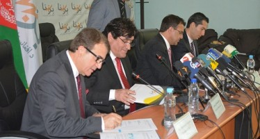 DABS signs contract with Turkish Company on the supply of power project in Kabul