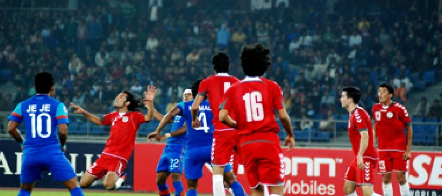 Afghanistan qualifies for semi-finals of SAFF championship after defeating Sri Lanka 3-1