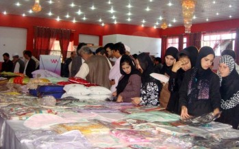 Handicraft market for Afghan women inaugurated in Helmand