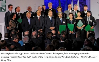 Winners of the 2013 Aga Khan Awards for Architecture announced