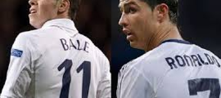 Gareth Bale to line up alongside Cristiano Ronaldo