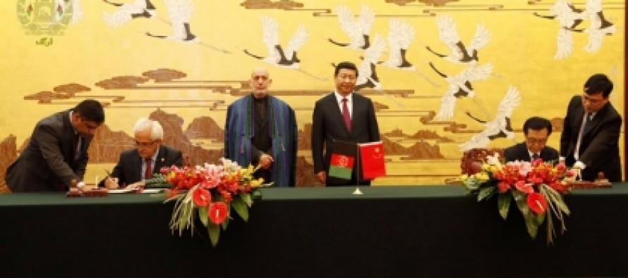 Three cooperation agreements signed between China and Afghanistan