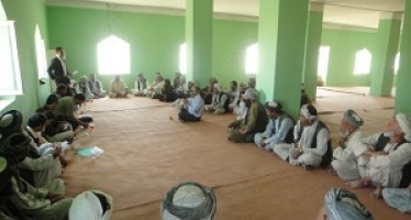 SCA completes 27 development programs in Samangan and funds 24 CDCs in Balkh