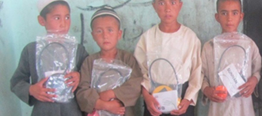 Solar lights distributed to students in Jawzjan