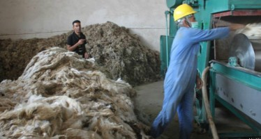 First spinning factory opened in Afghanistan