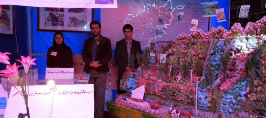 First generation of Afghan Hydropower students exhibits at Kabul Vocational Training Exhibition