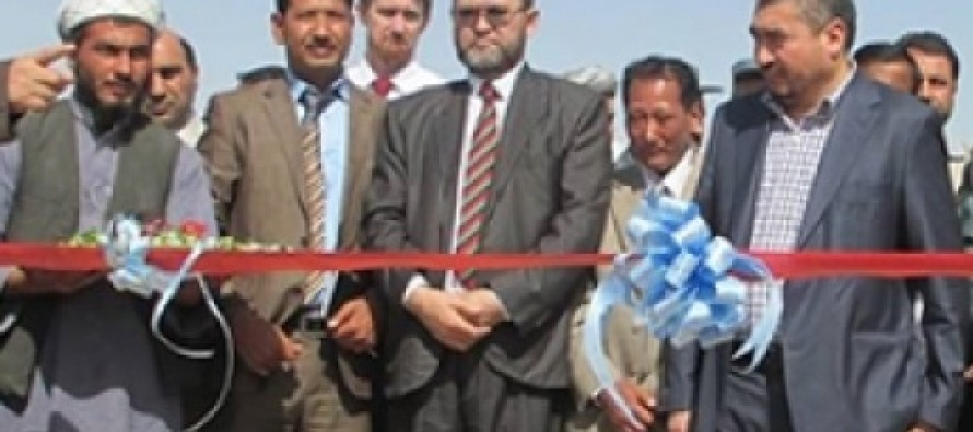 3 road building projects launched in Jawzjan