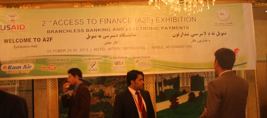 Thousands of entrepreneurs from across Afghanistan flocked to the Access to Finance Exhibition