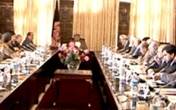 Afghan Council of Ministers confer on progress of development projects