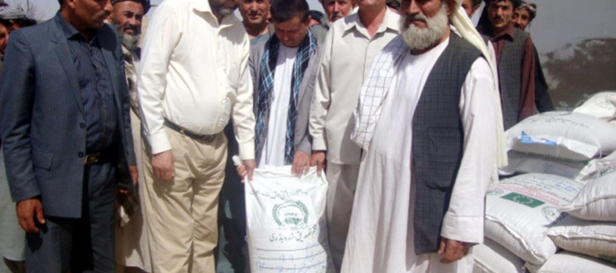 Distribution of improved seeds and fertilizer to launch in Logar province