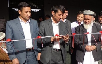 Afghanistan's first iodized salt production factory established