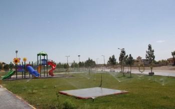 Women-only park opens in Samangan