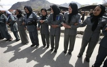 Recruitment of female police in Kandahar doubles
