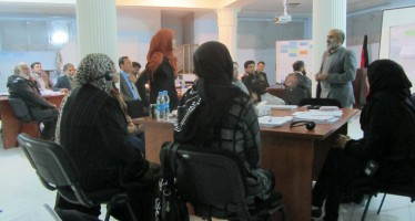 Afghan education professionals trained in peace education and human rights