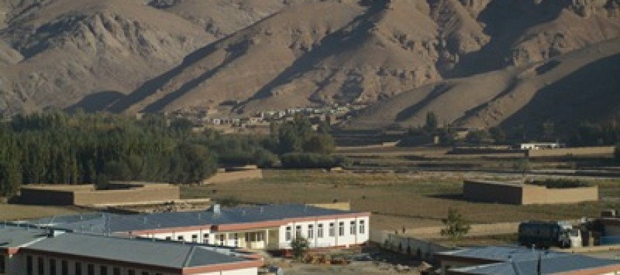 High school, resource centers and a staff quarter constructed in Samangan