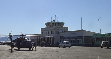 Herat Airport launches its first international flight