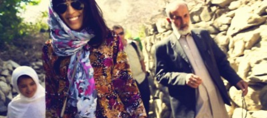 Famous singer Loreen 'Ambassador' for Swedish Committee for Afghanistan