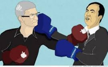 Apple and Samsung's patent dispute continues