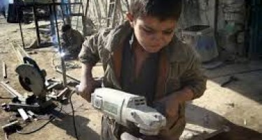 President Karzai calls attention to child labor problems in Afghanistan