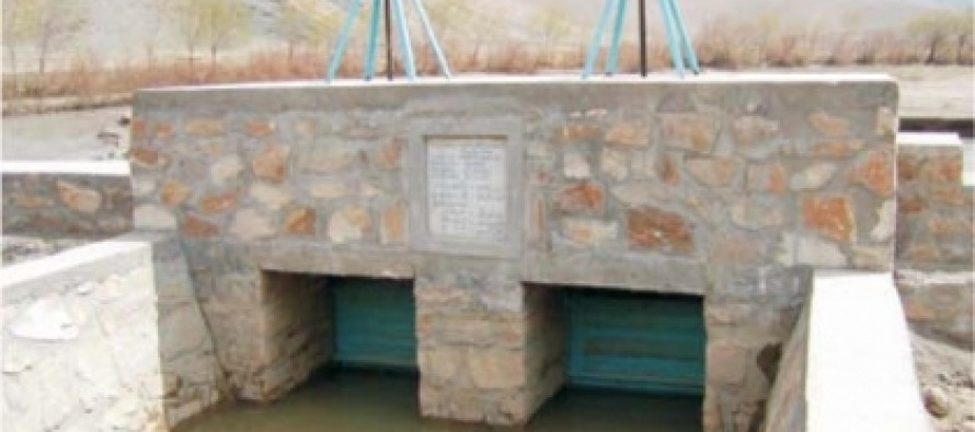 Afghan Agriculture Ministry funds construction of dams and canals in Samangan
