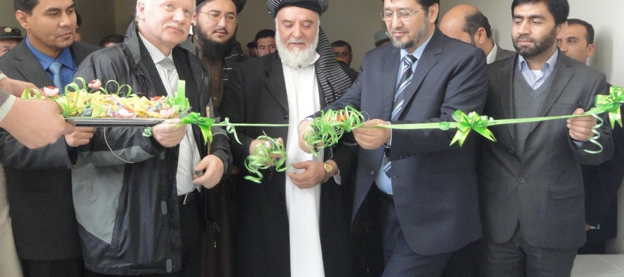 Provincial Governor's Office of Takhar gets additional administrative building