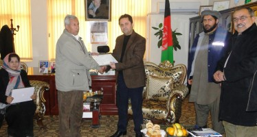 Baghlan's provincial departments receive office equipment for effective public services
