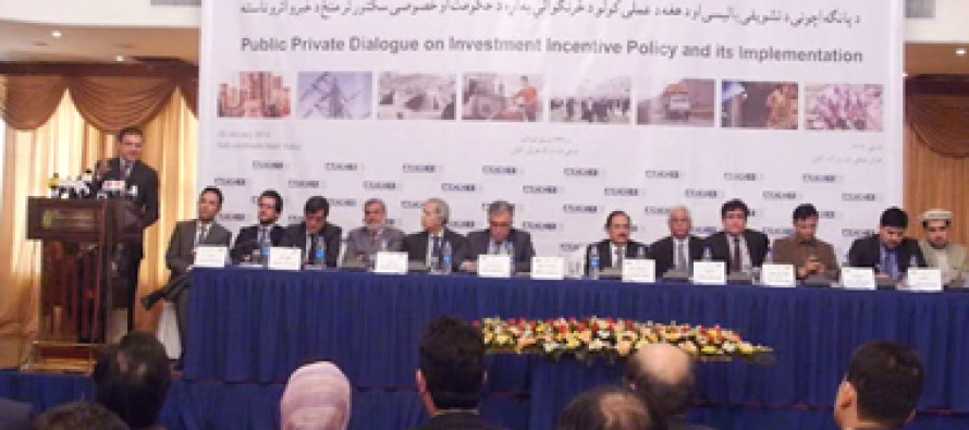 Afghan investors present support policy to tackle economic issues