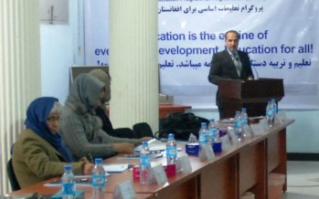 Afghan experts discuss gender equality in the education system from a human rights perspective