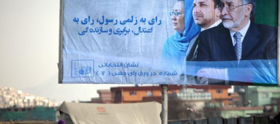 Afghan presidential candidates criticized for using foreign printing industry