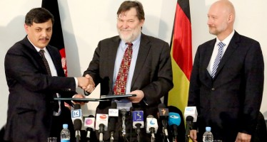 Afghanistan and Germany sign agreement to build secure printing facility