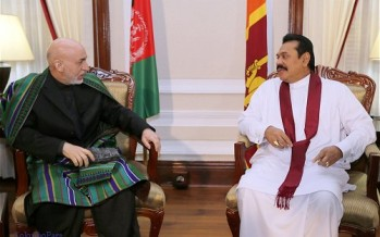 Sri Lanka agrees to enhance involvement in Afghan economy