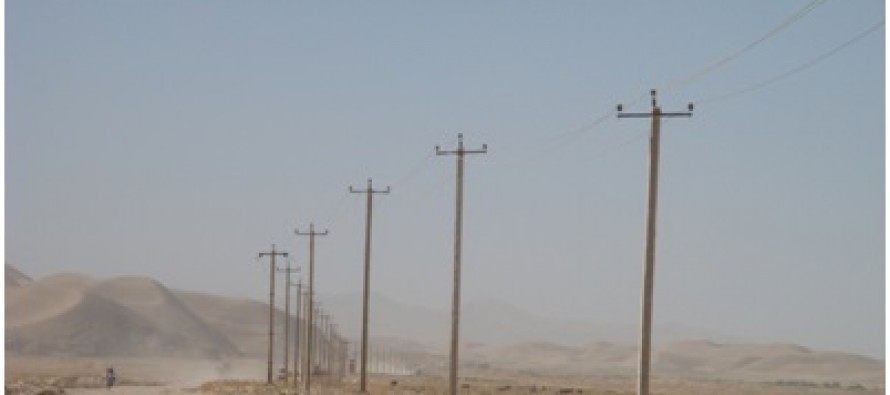 A development project completed in Jawzjan province