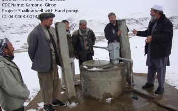 Twenty development projects completed in Wardak province
