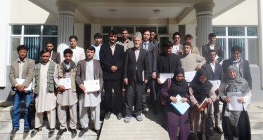 Quality management training for small and medium-sized infrastructure projects in Badakhshan