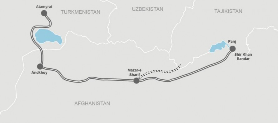 Implementation of the Afghan-Turkmen-Tajik railway continues
