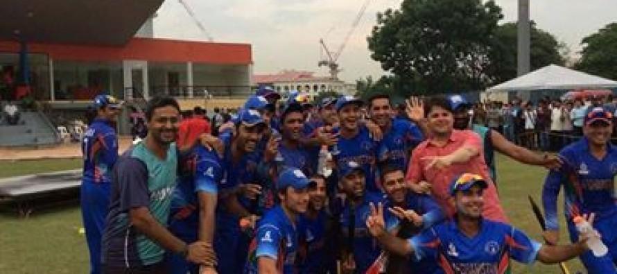 Afghanistan wins ACC Premier League championship trophy