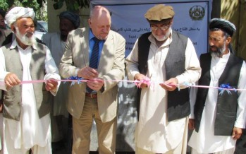 Afghan-German Cooperation supports environmental awareness campaign in Qala-e-Zal district