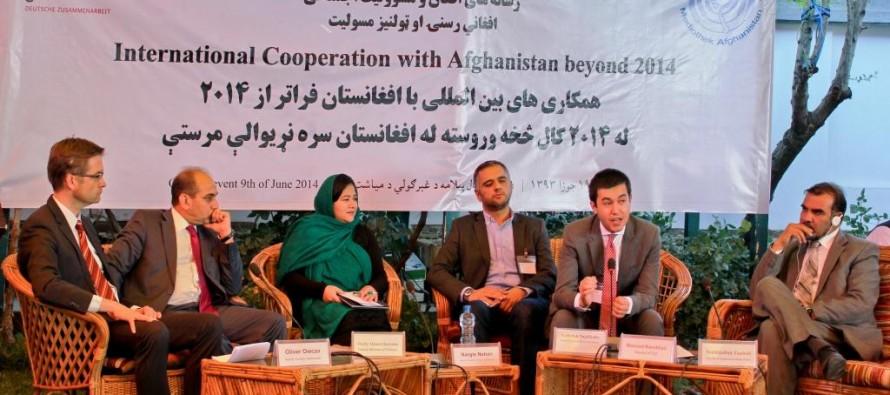 Afghanistan, Germany debate international cooperation beyond 2014